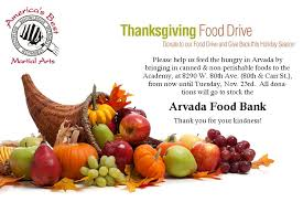 thanksgiving food drive america s best