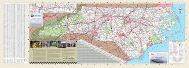 Nc State Campus Map Large Detailed Transportation Map Of North Carolina State With All