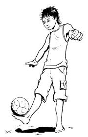 easy football players drawings gallery clip art library
