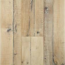 7 inch scraped white oak finished wood floors for the
