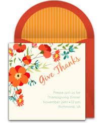 free thanksgiving invitations punchbowl