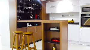 2017 newest kitchen furniture design mdf customized modern wooden