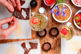 luxury chocolate making workshop including bubbly lastminute com