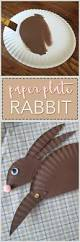 paper plate rabbit craft kids will love this paper plate craft idea