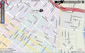 map of downtown los angeles rhymes with mousse not mouse yahoo maps shows downtown