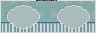 28 Light Blue And White Light Blue And White Stripes And Polka Dots Free Party Printables