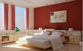 Master Bedroom Paint Color Ideas Awesome Red Black And Cream - Red and cream bedroom designs