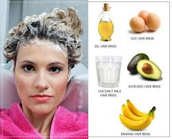 best hair masks for dry damaged hair diy hair masks with based reinforcing natural ingredients in winter