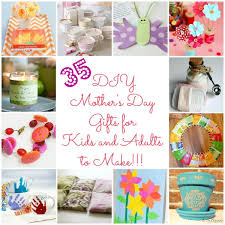 mothers gift ideas 35 diy s day gift ideas tutorials some are for kids to