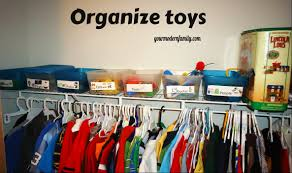 organzing tips on organizing kids closets