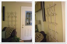 thrifty finds and redesigns trellis coat rack