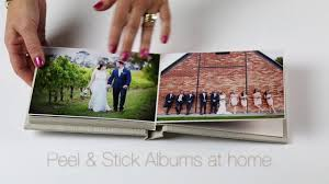 Photography Albums How To Make Peel U0026 Stick Photo Albums Youtube