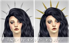 spiked headband spiked headband at sims sims 4 updates