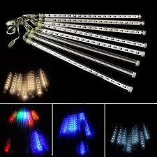 outdoor string lights rain romantic multicolor 30cm meteor shower rain tubes 240 led christmas