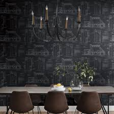 Wall Blueprints Blueprints Wallpaper Magnolia Market Joanna U0026 Chip Gaines