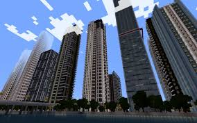 New York City Map For Minecraft by Riverport A New Modern City Project Work In Progress