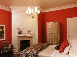 reddish brown wall paint interior painting cheerful purple bedroom