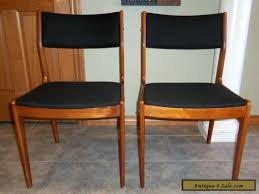 Dining Chair On Sale Pair Of Vintage Mid Century Modern Teak Dining Chairs For