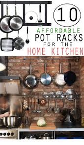 10 affordable pot racks for the home kitchen confectionalism