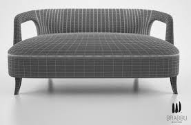 2 seat sofa brabbu karoo 2 seat sofa 3d model cgtrader
