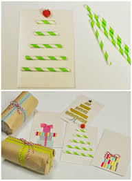 christmas crafts paper straw card be a fun mum