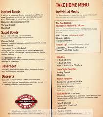 boston market menu for thanksgiving boston market fall river restaurants