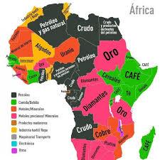 mapa de africa fogonazos el mapa de los recursos de áfrica