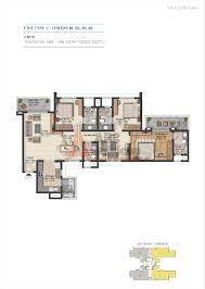 sobha city floor plan floorplan in