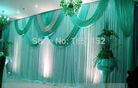 wedding backdrop blue aliexpress buy wholesale sequins stage backdrop for wedding