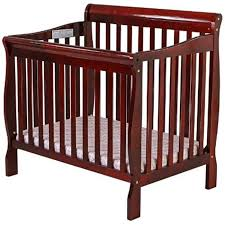 Convertible Mini Crib On Me 3 In 1 Aden Convertible Mini Crib Cherry 628c Ny