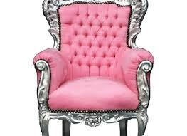 Dome Chairs Hollywood Regency Gold Pink Dome Bonnet Porters Chair Queen