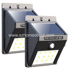 20led large triangle outdoor solar wall light manufacturer u0026 supplier