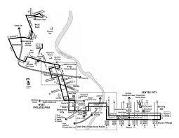 Septa Rail Map Navigating Philly U0027s Bus System Philadelphia Nileguide