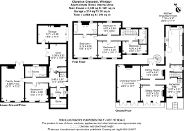 Clarence House Floor Plan 5 Bedroom Terraced House For Sale In Clarence Crescent Windsor