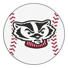 university of wisconsin badgers baseball area rug u2013 zokee