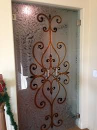 pantry door glass etched design etched glass pantry doors sans
