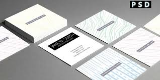 mini business cards free mini business cards 4 free sided psd templates