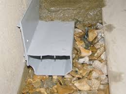 Basement Flooring Tiles With A Built In Vapor Barrier Interior Basement Drainage In Wisconsin U0026 Illinois Basement