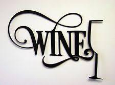 Wine Glass Wall Decor Wine Decor Ebay