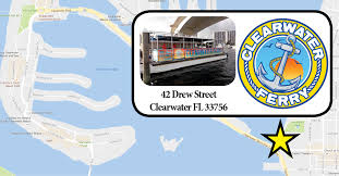 Map Of Clearwater Beach Florida by Maps And Directions Clearwater Beach Chalk Walk Clearwater