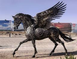 metal lion sculpture stunning animal sculptures made from scrap metal by hasan novrozi