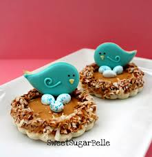 spring bird nest cookies u2013 the sweet adventures of sugar belle