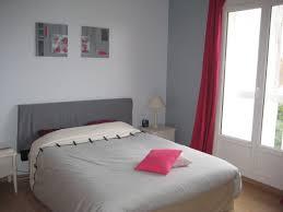 deco chambre gris et tableau diptyque abstrait gris et framboise 40 x 80 cm b deco