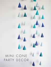 party decor cone party decor diy