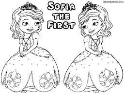 85 free coloring pages princess sofia free coloring