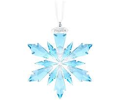 frozen snowflake ornament decorations swarovski shop