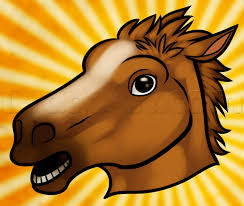Horse Head Mask Meme - how to draw the horse mask step by step characters pop culture