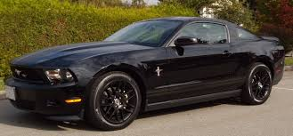 2010 Black Ford Mustang 2010 Red Ford Mustang Car Autos Gallery