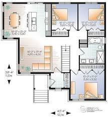 open kitchen floor plans with islands house plan w3133 v3 detail from drummondhouseplans com