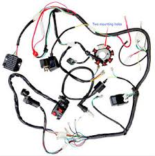 complete electrics wiring harness chinese dirt bike 150 250cc